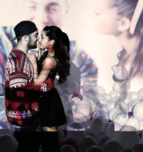 Ariana Grande and Mac Miller in LOVE!