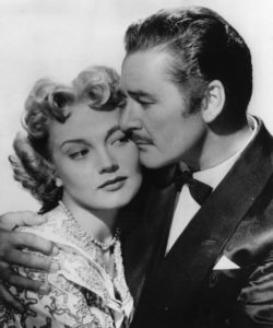 Patrice Wymore and Errol Flynn