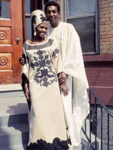 Miriam Makeba and Stokely Carmichael
